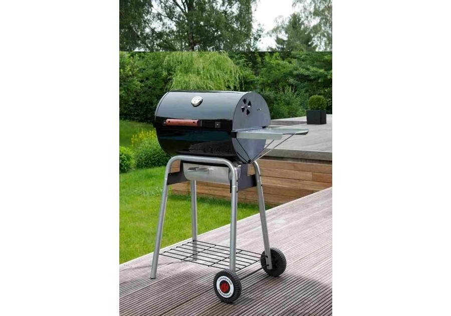 Landmann Holzkohlegrill Black Taurus 440 : Landmann grill wózek black taurus
