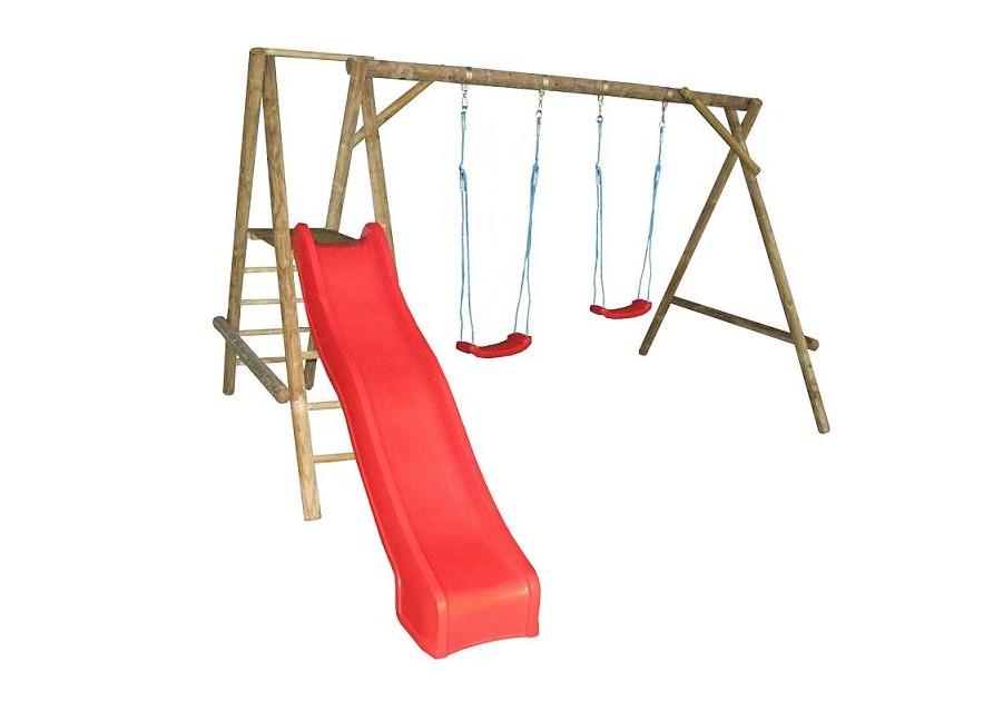 drewniana hu tawka dla dzieci zje d alnia. Black Bedroom Furniture Sets. Home Design Ideas